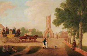 Norwich Stagecoach at King's Lynn, Norfolk