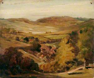 Landscape with Village in a Dale