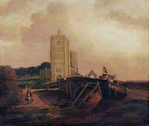 Wymondham Abbey from the West