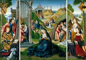 The Seven Sorrows of Mary (The Ashwellthorpe Triptych)
