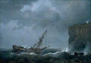 Vessel in Distress, Yarmouth, Norfolk