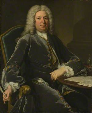Horatio, 1st Baron Walpole of Wolterton, as Envoy and Minister-Plenipotentiary at The Hague