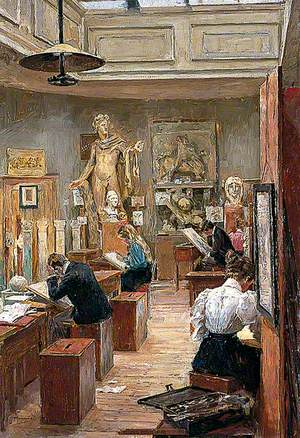 The Painting Room, Norwich School of Art
