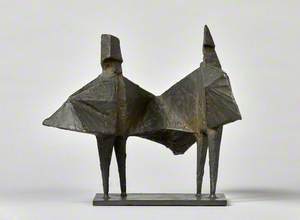 Maquette IV Winged Figures