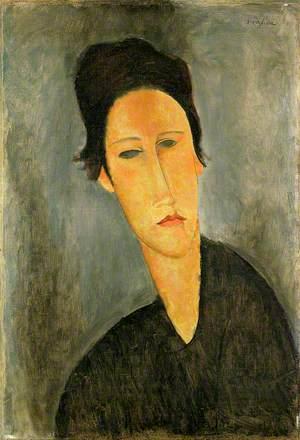 Head of a Woman (Anna Zborowska)