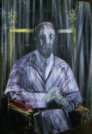 Study (Imaginary Portrait of Pope Pius XII)