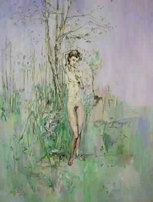 Nude Woman in Landscape