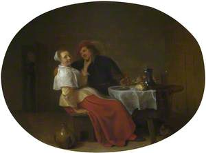 Two Lovers at Table