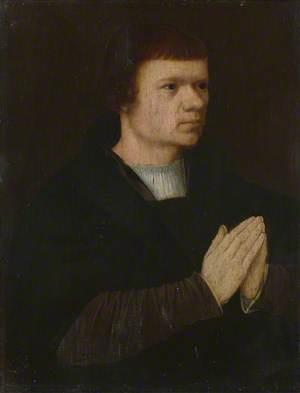 A Young Man Praying