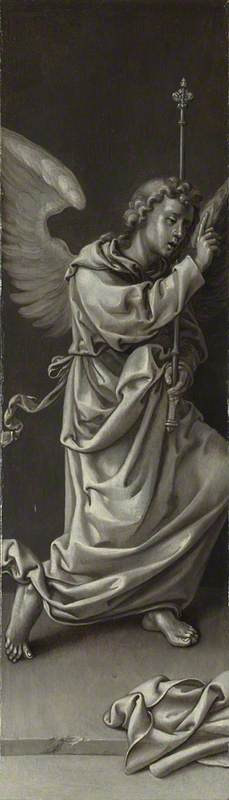 The Archangel Gabriel: Reverse of Left Hand Shutter