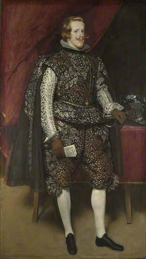 Philip IV of Spain in Brown and Silver