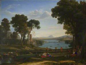 Landscape with the Marriage of Isaac and Rebecca