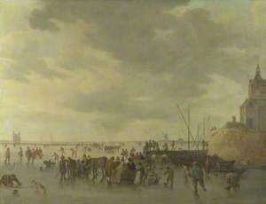 A Scene on the Ice near Dordrecht