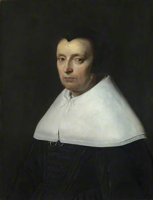 Portrait of a Woman with a Black Cap