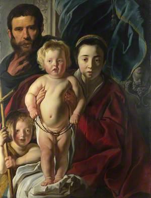 The Holy Family and Saint John the Baptist