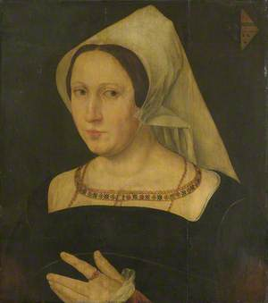 Anna van Spangen, Wife of Adriaen van der Goes