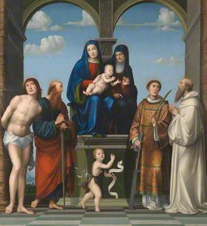 The Virgin and Child with Saint Anne and Other Saints