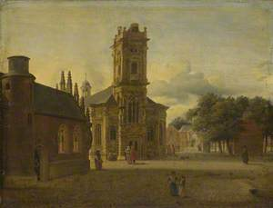A Square before a Church