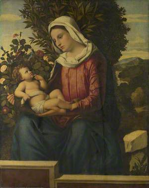 The Virgin and Child with Roses and Laurels ('La Vierge aux Lauriers')