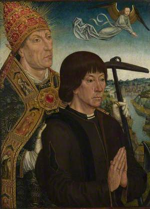 Saint Clement and a Donor