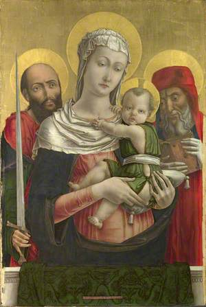 The Virgin and Child with Saints Paul and Jerome