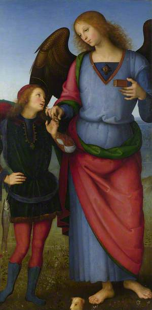 The Archangel Raphael with Tobias