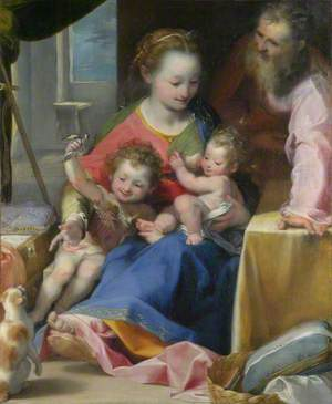 The Madonna and Child with Saint Joseph and the Infant Baptist ('La Madonna del Gatto')