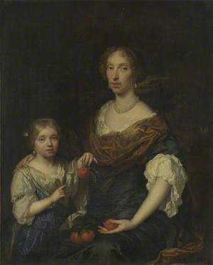 Portrait of a Lady and a Girl