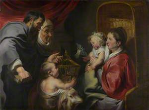The Virgin and Child with Saints Zacharias, Elizabeth and John the Baptist