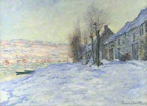 Lavacourt under Snow