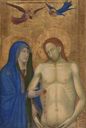 The Dead Christ and the Virgin