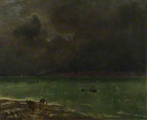 Storm at Honfleur