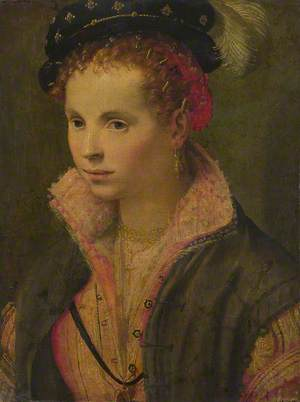 Portrait of a Lady in a Plumed Hat