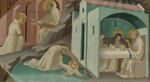 Incidents in the Life of Saint Benedict: Predella Panel