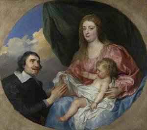 The Abbé Scaglia adoring the Virgin and Child