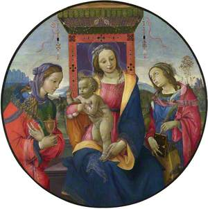 The Virgin and Child with the Magdalen and Saint Catherine of Alexandria