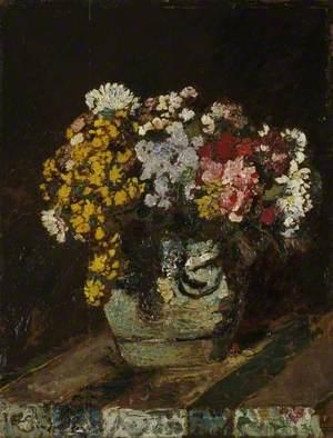 A Vase of Wild Flowers