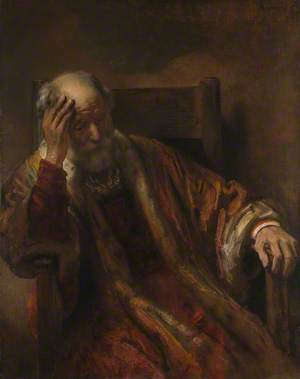 An Old Man in an Armchair