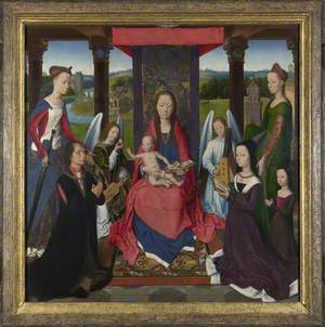 The Virgin and Child with Saints and Donors (The Donne Triptych)