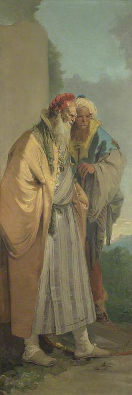 Two Men in Oriental Costume