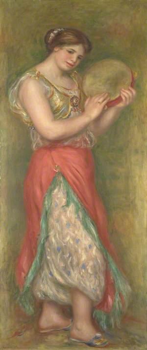 Dancing Girl with Tambourine
