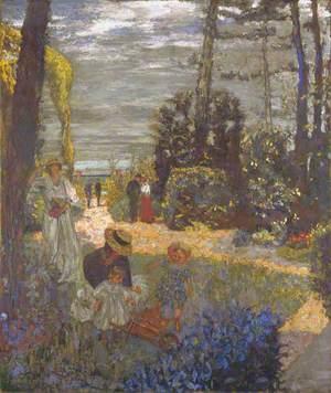 The Terrace at Vasouy, the Garden