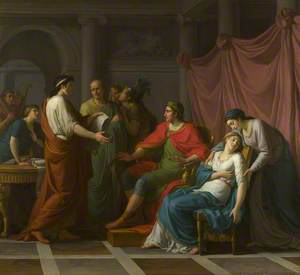 Virgil reading the Aeneid to Augustus and Octavia