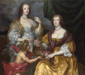Lady Elizabeth Thimbelby and Dorothy, Viscountess Andover