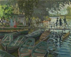 Bathers at La Grenouillère