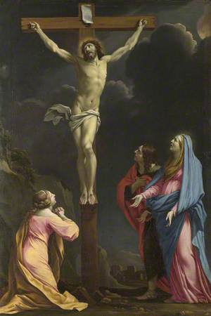 Christ on the Cross with the Magdalen, the Virgin Mary and Saint John the Evangelist