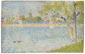 The Seine seen from La Grande Jatte