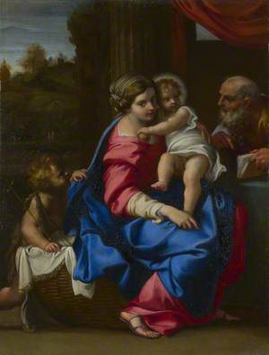 The Holy Family with the Infant Saint John the Baptist (The Montalto Madonna)