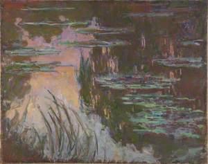 Water-Lilies, Setting Sun