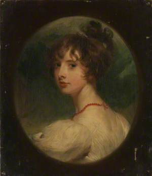 Portrait of the Hon. Emily Mary Lamb (1787-1869), later Countess Cowper and Viscountess Palmerston